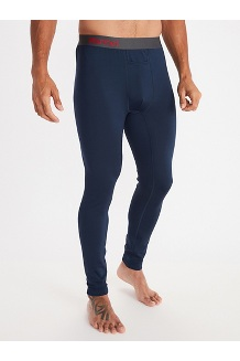 Men's Polartec Baselayer Tights, Dark Indigo, medium
