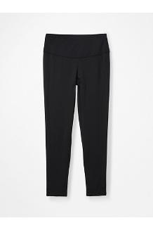 Women's Baselayer 7/8 Tights, Black, medium