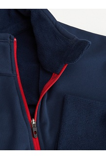 Women's Polartec Baselayer ½-Zip Jacket, Dark Indigo, medium