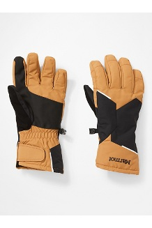 Women's Moraine Gloves, Scotch/Black, medium