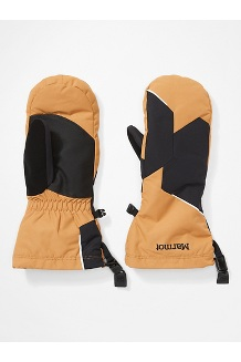 Women's Moraine Mitts, Scotch/Black, medium