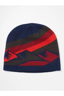 Men's Novelty Reversible Beanie, Steel Onyx/Arctic Navy, medium