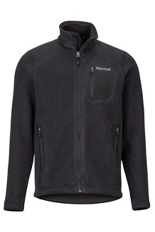 Men's Wrangell Jacket, Black/Black, medium