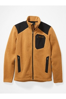 Men's Wrangell Jacket, Scotch/Black, medium
