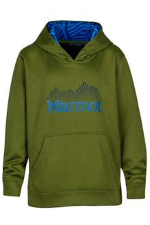 Boy's Hudson Hoody, Cedar, medium