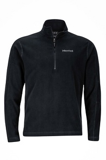Men's Rocklin 1/2-Zip, Black, medium