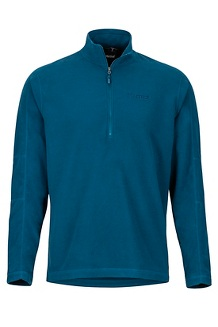 Rocklin 1/2 Zip, Denim, medium