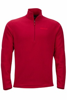 Men's Rocklin 1/2-Zip, Sienna Red, medium