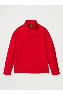 Men's Rocklin 1/2-Zip, Team Red, medium