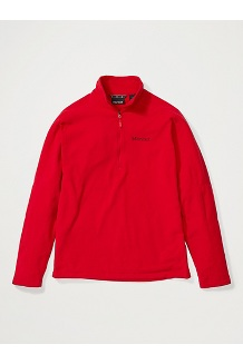 Men's Rocklin 1/2-Zip, Team Red, medium