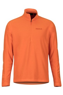 Men's Rocklin 1/2-Zip, Mandarin Orange, medium