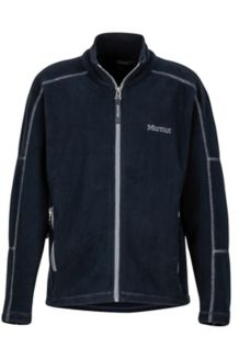 Boy's Lassen Fleece, Black, medium