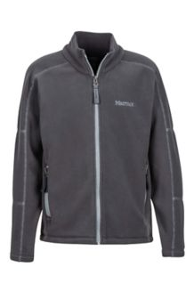 Boy's Lassen Fleece, Slate Grey, medium