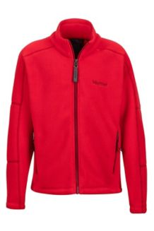 Boy's Lassen Fleece, Tomato, medium