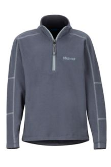 Boys' Rocklin 1/2 Zip, Steel Onyx, medium