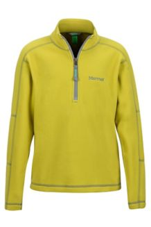 Boy's Rocklin 1/2 Zip, Citronelle, medium