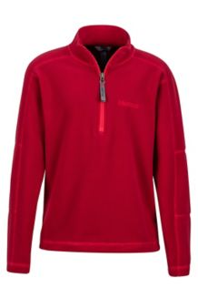 Boy's Rocklin 1/2 Zip, Sienna Red, medium