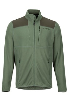 Men's Reactor Jacket, Crocodile/Rosin Green, medium
