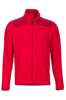 Men's Reactor Jacket, Team Red/Brick, medium