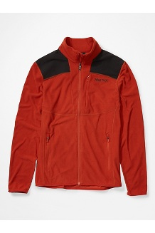 Men's Reactor Jacket, Picante/Black, medium