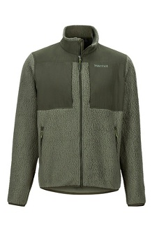 Men's Wiley Jacket, Crocodile/Rosin Green, medium
