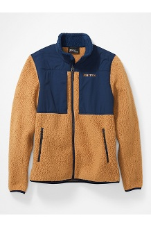 Men's Wiley Jacket, Scotch/Arctic Navy, medium