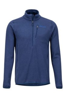 Preon 1/2 Zip Fleece Jacket, Arctic Navy, medium