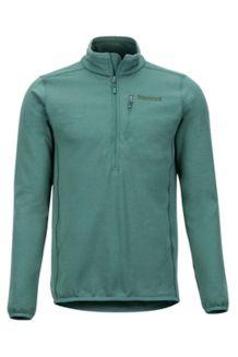 Preon 1/2 Zip Fleece Jacket, Mallard Green, medium