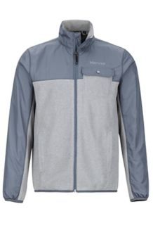 Tech Sweater, Grey Storm Heather/Steel Onyx, medium