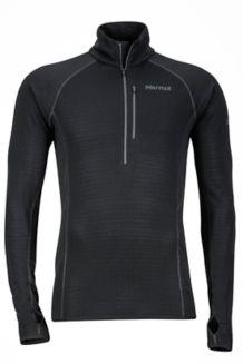 Neothermo 1/2 Zip, Black, medium