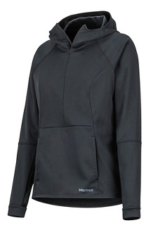 Women's Zenyatta 1/2 Zip Hoody, Black, medium