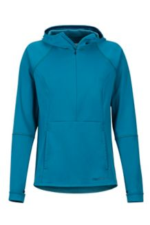 Women's Zenyatta 1/2 Zip Hoody, Late Night, medium