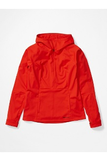 Women's Zenyatta 1/2 Zip Hoody, Victory Red, medium