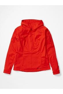 Women's Zenyatta 1/2 Zip Hoody, Victory Red, medium