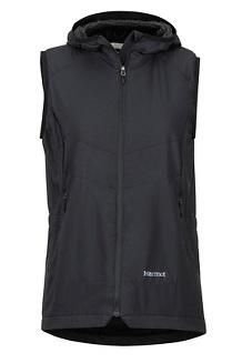 Women's Alpha 60 Vest, Black, medium