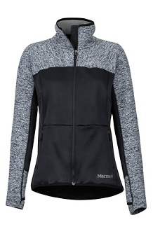 Women's Mescalito Fleece Jacket, Black, medium