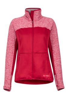 Women's Mescalito Fleece Jacket, Sienna Red, medium