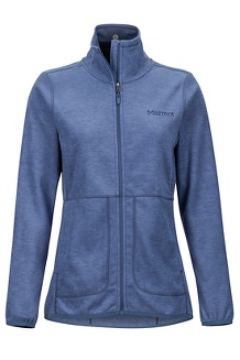 Women's Pisgah Fleece Jacket, Storm, medium