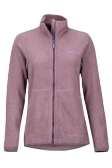 Women's Pisgah Fleece Jacket, Vintage Violet, medium