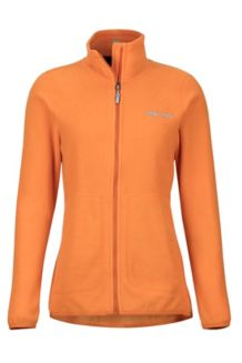 Women's Pisgah Fleece Jacket, Bonfire, medium