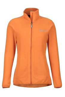 Women's Pisgah Fleece Jacket, Bonfire, medium