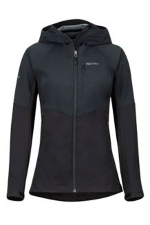 Women's ROM Jacket, Black, medium