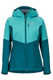 Women's ROM Jacket, Patina Green/Deep Teal, medium