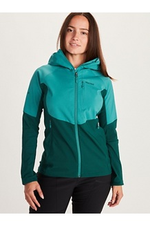 Women's ROM Jacket, Enamel Blue/Sleet, medium