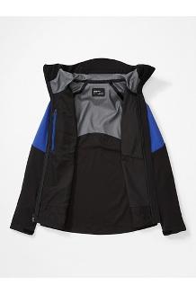 Women's ROM Jacket, Black/Royal Night, medium