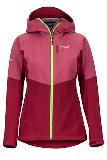 Women's ROM Jacket, Claret/Dry Rose, medium