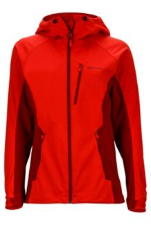 Wm's ROM Jacket, Scarlet Red/Brick, medium