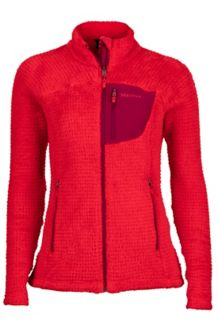 Wm's Thermo Flare Jacket, Tomato/Red Dahlia, medium