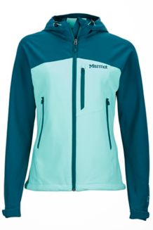 Wm's Estes Hoody, Celtic/Deep Teal, medium