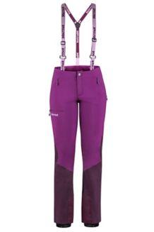 Women's Pro Tour Pant Short, Grape/Dark Purple, medium